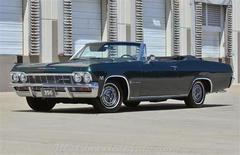 1965 chevrolet impala ss convertible big block 4spd ac for