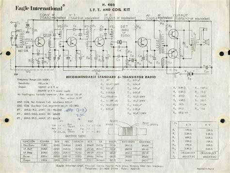 transistor radio schematic diagram transistor diagrams