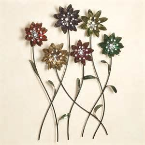 Metal Flower Wall Decor by Flower Song Metal Wall