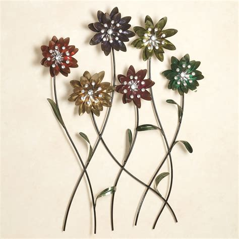 Floral Wall Decor by Flower Song Metal Wall