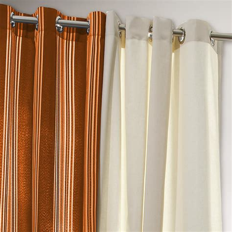 orange and blue striped curtains orange striped gazebo curtain world market