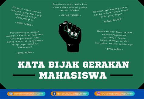 kata bijak gerakan mahasiswa darah juang  negeri