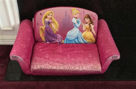disney princess sofa chair letgo pink disney princesses sofa chair in perris ca