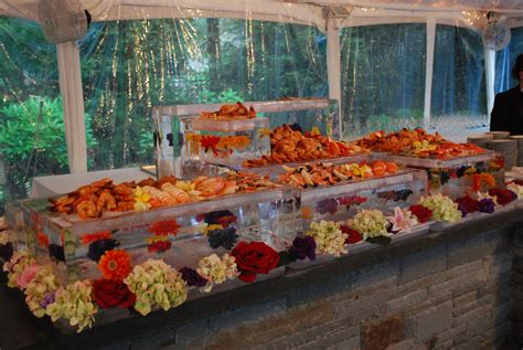 tented buffet display provence events pinterest