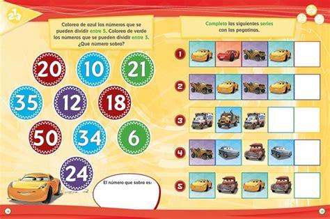 cars libro educativo cars 3 libro educativo disney con actividades y pegatinas megustaleer