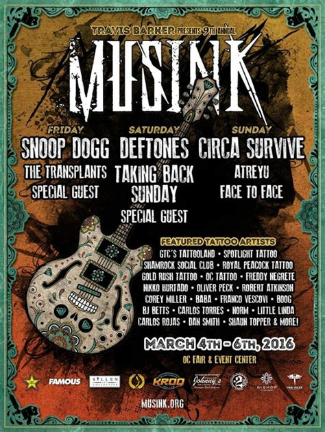 tattoo expo orange county 2016 musink tattoo convention march 2016