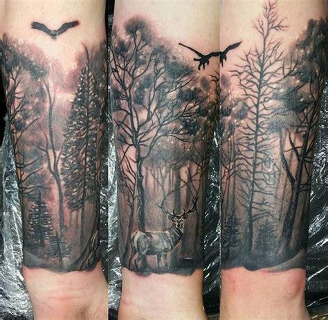 tattoo camo nz tattoo forest deer forearm all pinterest tattoo