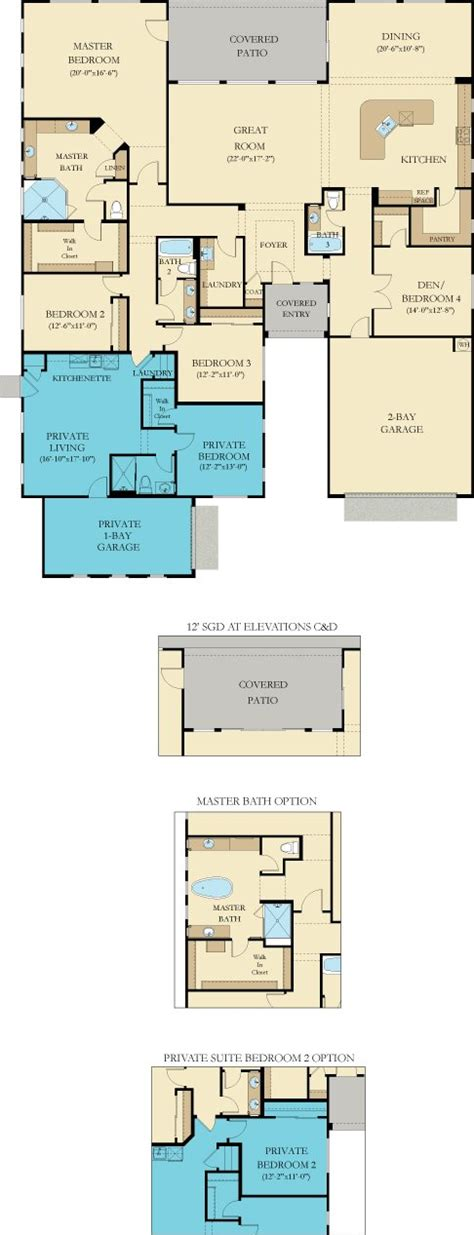 lennar next gen floor plans pinehurst next gen new home plan in layton lakes vision