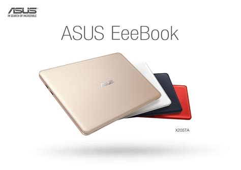 Notebook Asus Eee Book X205ta asus eee book canada x205 best laptop only 200 techaholic 174 official website