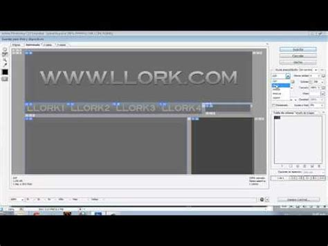 photoshop cs3 slideshow tutorial tutorial crear plantilla html con photoshop cs3 llork