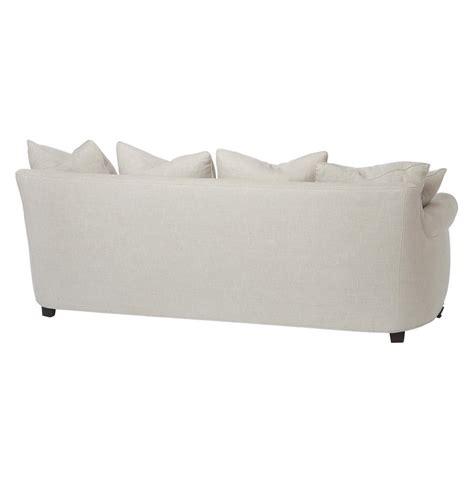 cortona classic rolled arm feather oatmeal sofa 90