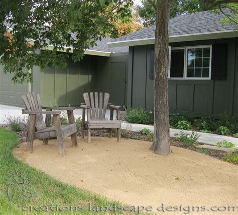 decomposed granite patio for the home pinterest