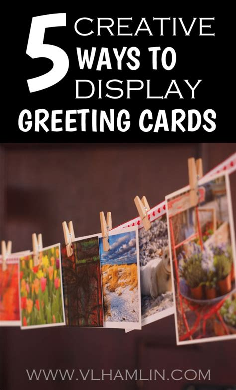 cards at home 5 creative ways to display greeting cards food design