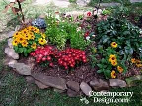 flower bed ideas for full sun