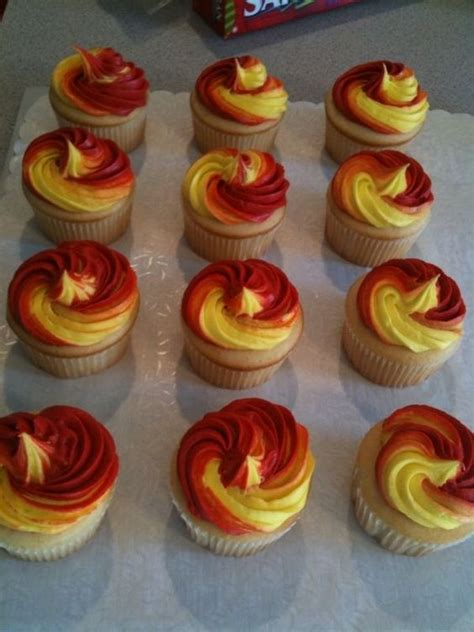 cupcake themed party games girl on fire cupcakes from hunger games movie tv show