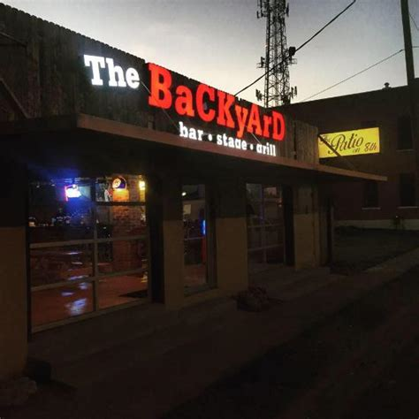 the backyard bar stage and grill waco menu prices