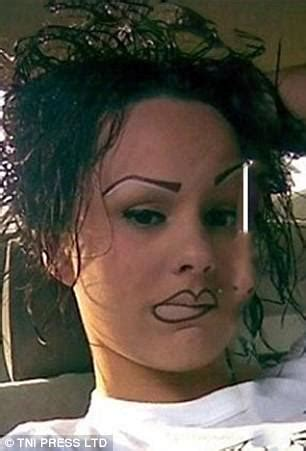 tattoo eyebrows daily mail are these the worst eyebrows fails ever daily mail online