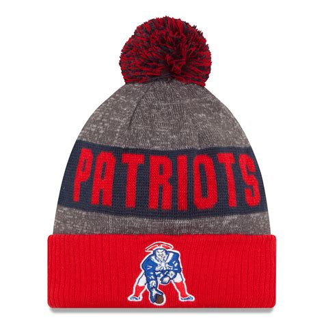 patriots knit hat new patriots new era 2016 nfl official sideline