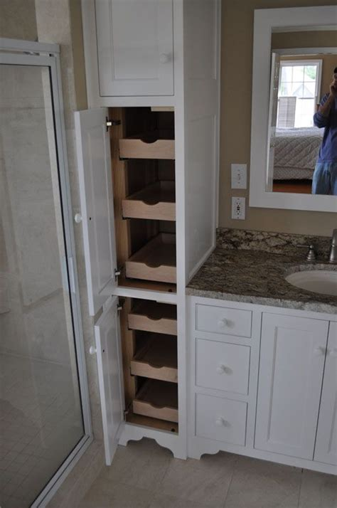 pull out drawers for bathroom cabinets 25 best ideas about bathroom linen cabinet on pinterest