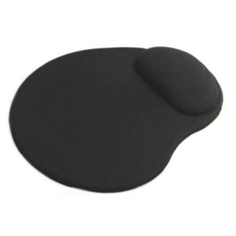 Mouse Mat With Wrist Support by Mofred 174 Mofred 174 Black Anti Slip Comfort Mouse Mat Pad With