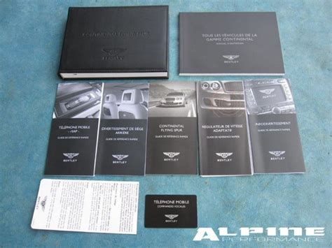 the bentley guide oem bentley continentyal flying spur owners manual