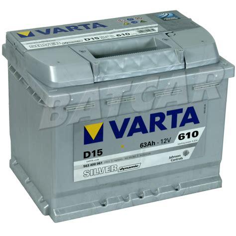 Varta Autobatterie 3646 by Varta Autobatterie Varta Autobatterie Silver Dynamic D15