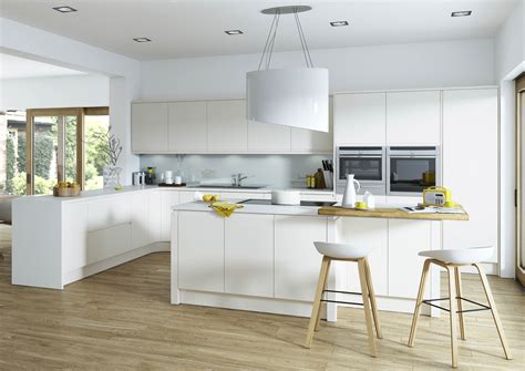 gloss white kitchens hallmark kitchen designs handleless kitchens any colour irresistible prices