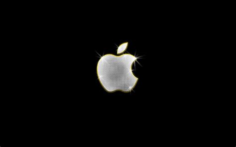 apple update wallpaper bling apple logo wallpaper skyline