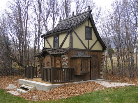 Cottage Playhouses by Bavarian Cottage Playhouse Traditional Outdoor