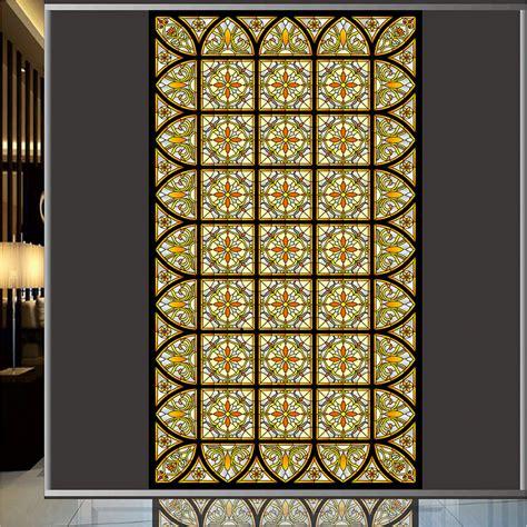 church stained glass window film