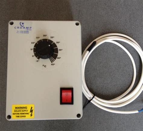Fan Speed Controllers Single Phase Temperature Fan