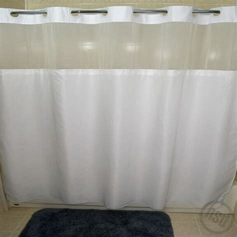 shower curtain see through rujan peek a boo moire style polyester shower curtain see