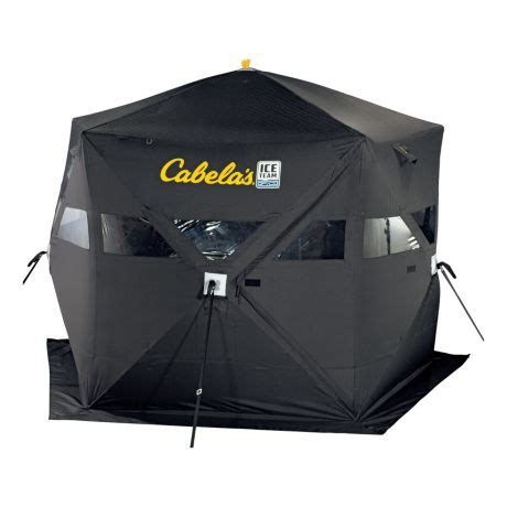 Kitchen Furniture Calgary cabela s ice team five sided 360 full thermal ice shelter