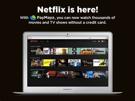 Pay For Netflix With Visa Gift Card - open a netflix account without a credit card with paymaya