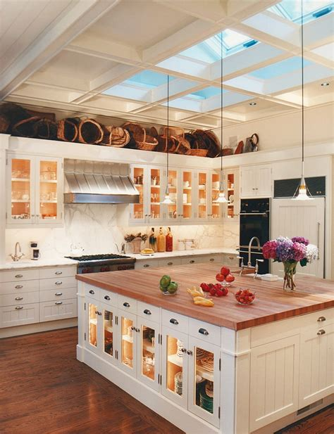 big island kitchen 25 captivating ideas for kitchens with skylights