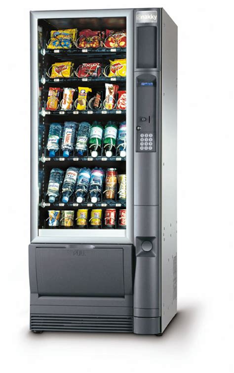 distributore alimentare distributori automatici di snack e bibite