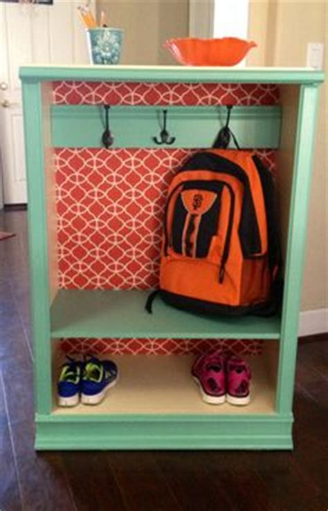 backpack storage ideas backpack storage on pinterest kids backpack storage