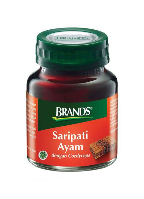 Brands Saripati Ayam 70g brand s essence of chicken cordyceps btl 70g klikindomaret