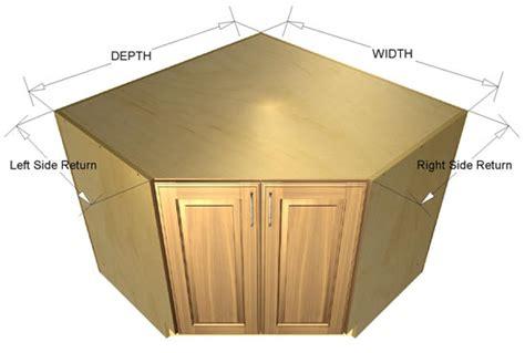 45 Degree Kitchen Cabinet 45 Degree Base Sink Cabinet