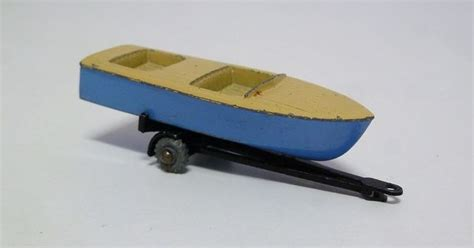 shipping boat and trailer matchbox lesney no 48 meteor sports boat trailer free