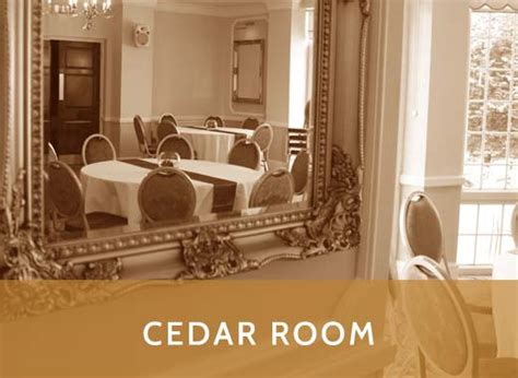 Cedar Room by Manor Parc Hotel Conference Rates Are Competitive