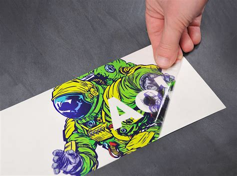 vinyl print on paper stickers labels latitude
