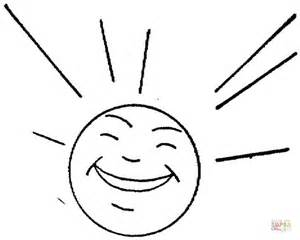 happy sun coloring page sun is happy coloring page free printable coloring pages