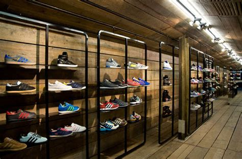 the athletic shoe shop shoe store design by wilson brothers