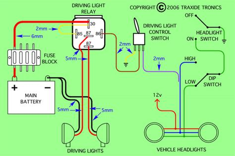 need to wire spotlight relay into 09 hilux usaly 1 go to