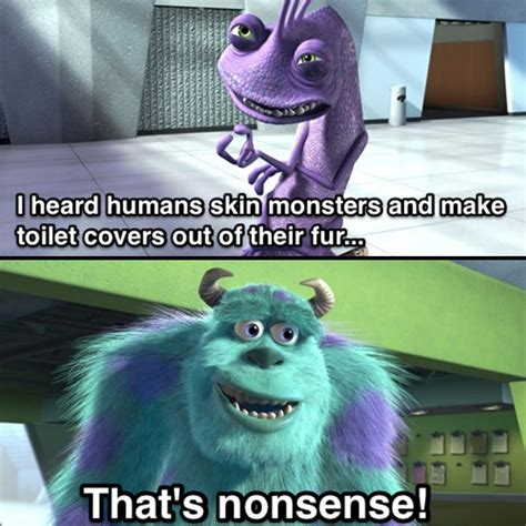 Randall Meme - this fan theory for monsters inc is actually pretty dark