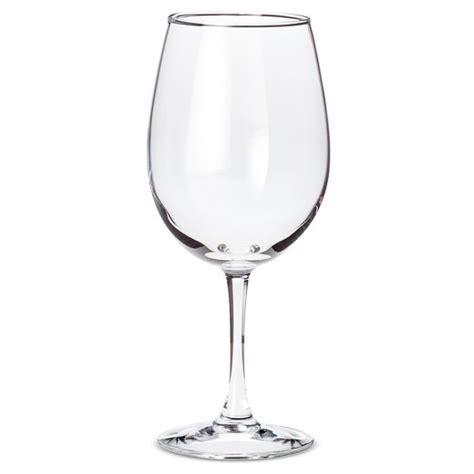 wine glasses luminarc 174 12pc everyday white wine glasses target