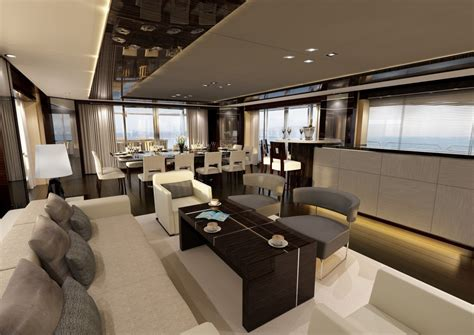 Yacht Interior Design | luxury yacht interior design