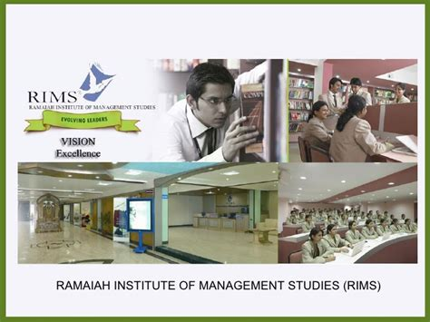 Executive Mba In Bangalore Weekend Courses by Ramaiah Institute Of Management Studies Rims Mba