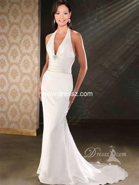 Custom HandMade Top Quality Elegant Mermaid Halter V neck